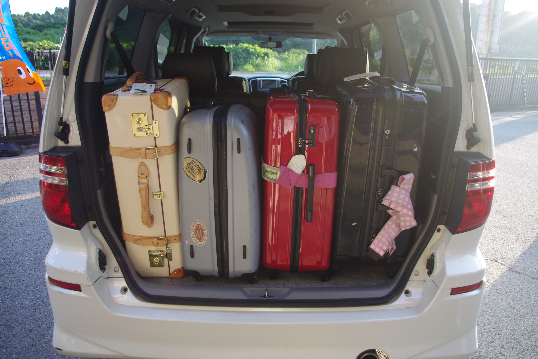 Luggage Capacity Toyota Alphard Pictures To Pin On